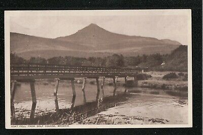 Goat Fell From Golf Course Brodick 1950's ? Postcard