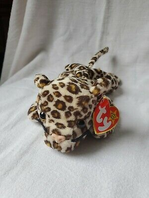 1997 TY BEANIE babies Freckles the Leopard  NWNT plush