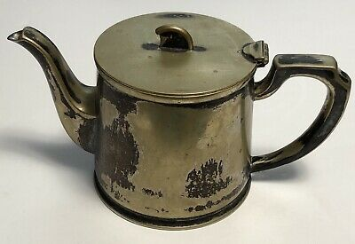 Vintage Walker & Hall Sheffield hard and silver solgered coffee pot 1.5pts