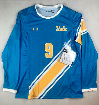 the latest c1f51 d275c ADIDAS JERSEY SOCCER Goalie UCLA Loose Fit Yellow Vintage ...