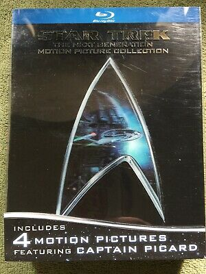 Star Trek: The Next Generation - Motion Picture Collection (Blu-ray Disc, 2009,