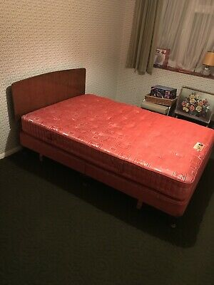 vintage double bed By Simmons Of London
