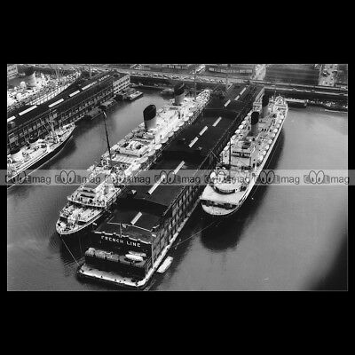 #php.03196 Photo PAQUEBOT SS FRANCE CGT FRENCH LINES 1965 OCEAN LINER