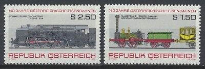 Austria 1977 MNH, Trains, Railways  (T2n)