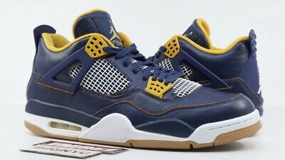 0ad99072f3c9d3 Air Jordan 4 Iv Retro Used Size 13 Dunk From Above Midnight Nav Maize 308497  425