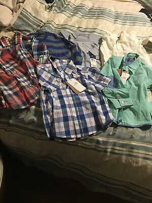 Lot 7 Boys Shirts Tops Size 3 Mayoral Ralph Lauren Gap Crewcuts