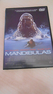 Dvd Mandibulas (Lake Placid)