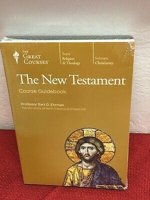 NEW TESTAMENT  Bible History Religion Christianity DVD & Book Great Courses