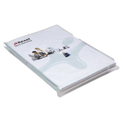 Rexel Nyrex Clear A4 Expanding Folders (Pack of 10) 2001015