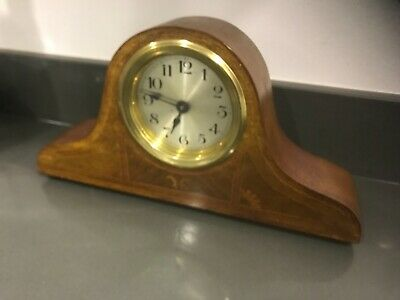 Antique French napoleon hat mantle clock fully working