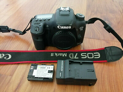 Canon EOS 7D Mark II 20.2MP Digital SLR Camera Body Only