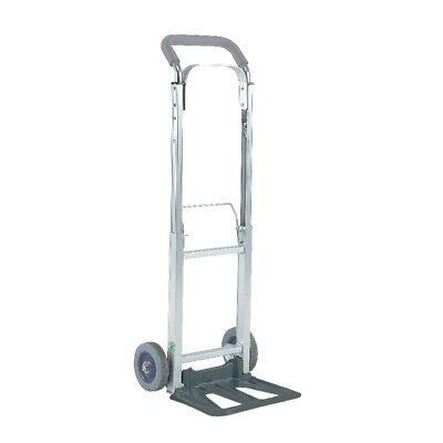 Compact Folding Hand Truck Silver 313195