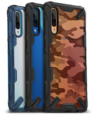 Ringke Samsung Galaxy A50 2019 Case, NEW [Fusion-X] Clear Bumper Drop Protection