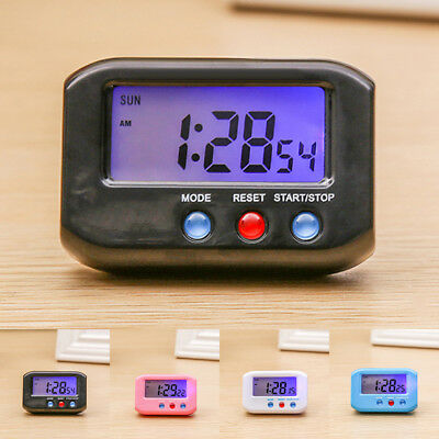 Digital LED Alarm Clock Large Screen Snooze Battery Powered HOME Use Travel 2019