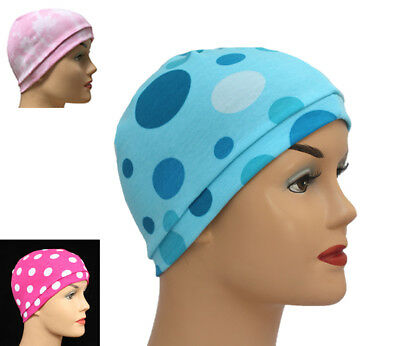 Jersey Sleeping Chemo Hats Cancer Head Scarves Chemotherapy Alopecia Caps Prints
