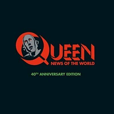 New QUEEN 40th Anniversary Super Deluxe CD+DVD+LP NEWS OF THE WORLD JP