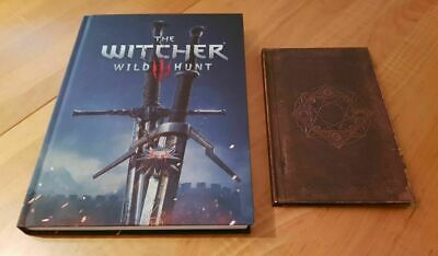 The Witcher 3 Wild Hunt Prima Official Game + Exclusive Witcher Grimoire English