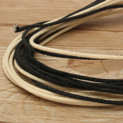6 Metres Guitar Electrics 22 Gauge Vintage Cloth Covered Wire Stranded Core