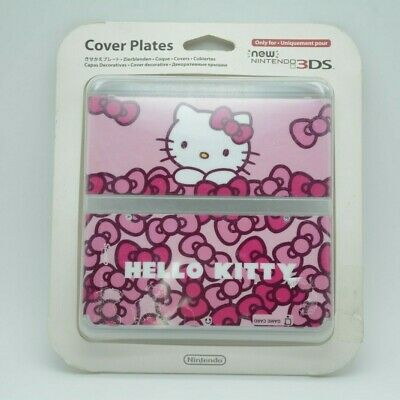 Cover Plate New Nintendo 3Ds, Cubierta Hello Kitty. Nuevo