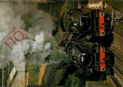 Picture Postcard, KWVR Class 5MT 4-6-0 No. 45212 And 5025 @ Keighley