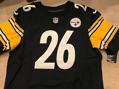 4115d8cff NIKE AUTHENTIC ON FIELD PITTSBURGH STEELERS LE VEON BELL ELITE JERSEY sz 48  XL