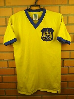 Leeds United jersey medium retro replica shirt soccer football Score Draw