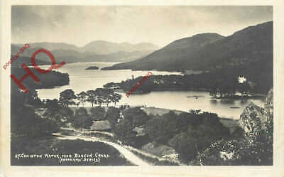 Postcard- English Lake District, Coniston Water From Beacon Crags [Abraham]
