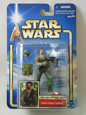 Star Wars Return Of The Jedi Endor Rebel Soldier Action Figure