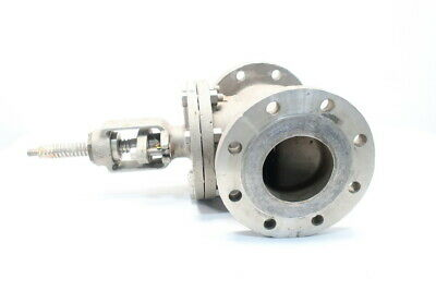 Aloyco 317 150 Stainless Flanged 4in Globe Valve