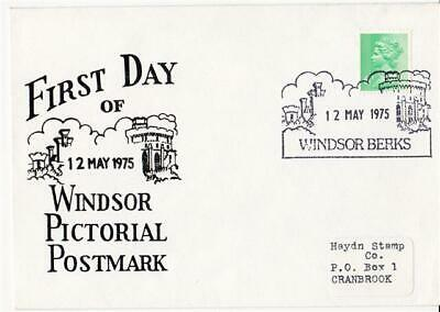 1975 Windsor Pictorial Handstamp - First Day of Use