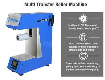 Miracle I-Track Multi Transfer Roller Machine - Heat transfer onto Plastics