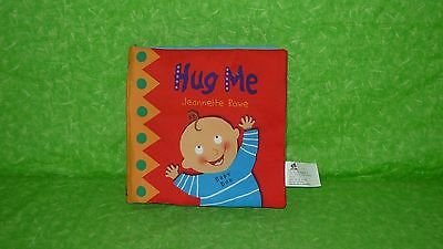 Jeanette Rowe HUG ME Baby Crinkle Soft Cloth Book