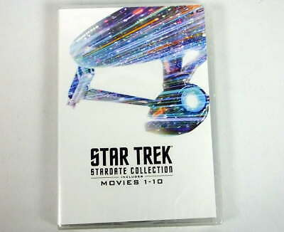 Star Trek Stardate Collection Includes Movies 1-10 New DVD Factory Sealed