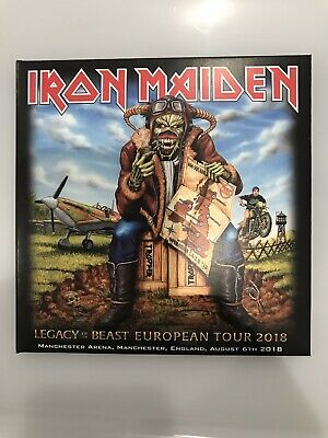 2 Cd  Iron Maiden Legacy Of The Beast Tour 2018 Manchester