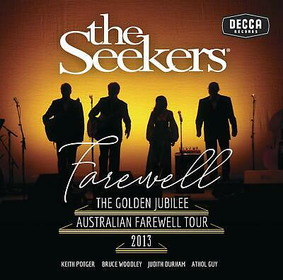 The Seekers The Seekers - Farewell CD ALBUM NEW (10TH MAY)