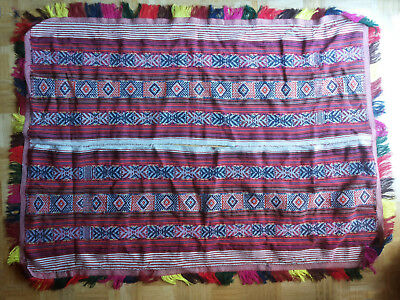 REAL Shaman Poncho + Q'ero + Used in Ceremony + Beauty-full and Power- full