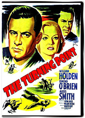 The Turning Piont 1952 DVD - FILM NOIR - William Holden, Edmond O'Brien