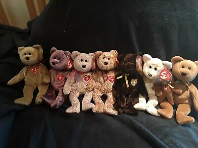 5ae29302ab2 TY Beanie Babies lot of TY Signature bears mint condition mint tags 1999 -  2005