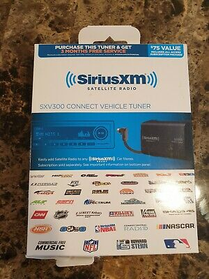 New in Box SiriusXM SXV300V1 Connect Car Truck Tuner Kit Fast Ship