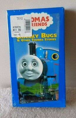 Thomas the Tank Engine Cranky Bugs & Other Stories [VHS 2001] NEW