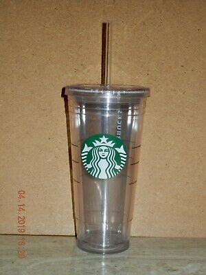 """NEW"" Starbucks Tumblers To Go 20 oz. Double-Wal Acrylic Cold Cup"