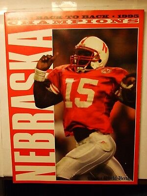 Nebraska Huskers 1995 National Championship Season Omaha World Herald Magazine
