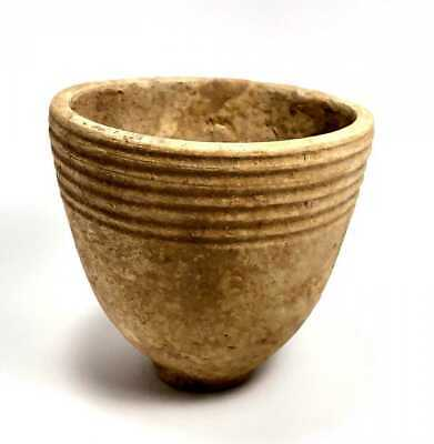 Ancient Holy Land Iron Age Terracotta Cup c.1400 BC.