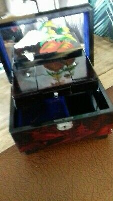 Vintage Oriental Lacquered Jewellery Box. 1960s ??