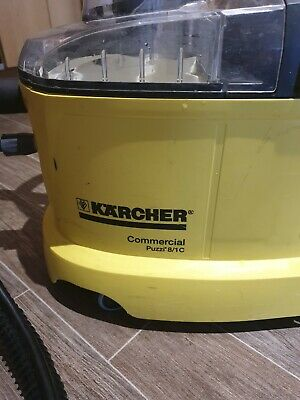 Karcher puzzi 8/1c professional carpet and upholstery cleaner