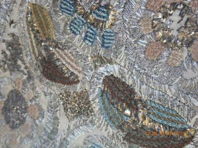Very Rare Antique 18th Century Embroidered/Assuit Panel