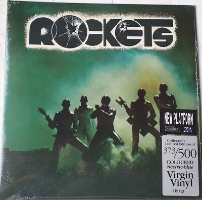 Rockets - Rockets  - Lp Vinile Colorato Blue 500 Copie Numerato Gatefold 2018