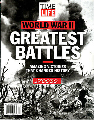Time Life Special 2019, World War II, Greatest Battles, New/Sealed, Reissue