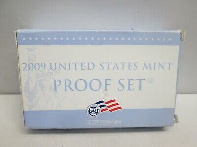 2009 Us Mint Proof Set With Box And Coa
