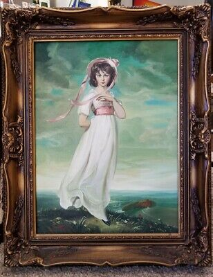 Painting Of A Young Lady.